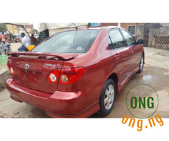 Neat Toyota Corolla sport for sale
