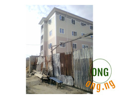 Newly built mini flat at park view.costain surulere