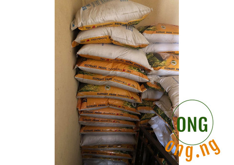 50kg Bag's of rice for sale