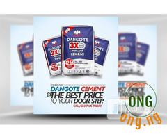 DANGOTE CEMENT:is available for sale(1,200)