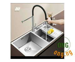 Stainless Kitchen Sink @a Low Price.
