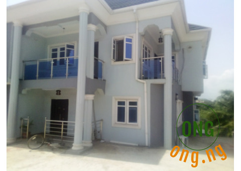 Tastefully Finished 3B/R Flat (Upstairs) in Arepo