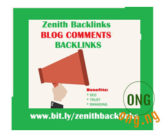 100 Blog comment backlinks from DA30-90