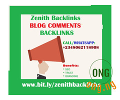 50 Blog comment backlinks from DA40-90