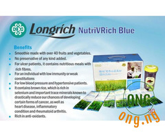Longrich NutriV Blue and Pink