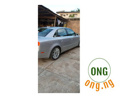FOR SALE AUDI A4 SILVER 2006