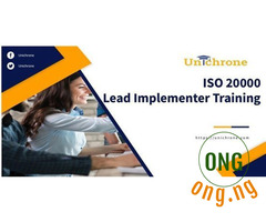 ISO 20000 Lead Implementer Training abuja