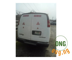Neat Chevrolet Express van for sale