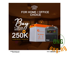 Inverter and Battery with FREE INSTALLATION