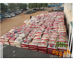 BAG OF RICE AND GROUNDUNT OIL FOR SALE