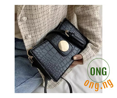 Quality croc leather bag