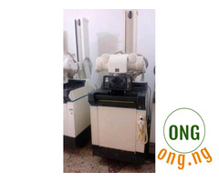 GE AMX x-ray machine battery operated with 125kv and 300ma