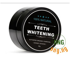 Teeth whitening and detoxifier