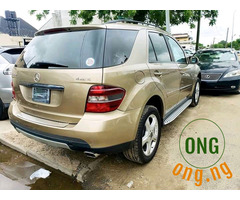 Tokunbo Mercedes Benz ML350