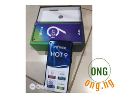 Clean infinix hot 9