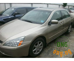 Direct Tokumbo 2004 Honda Accord EX For Sale