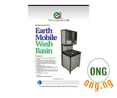 Home mobile wash basin